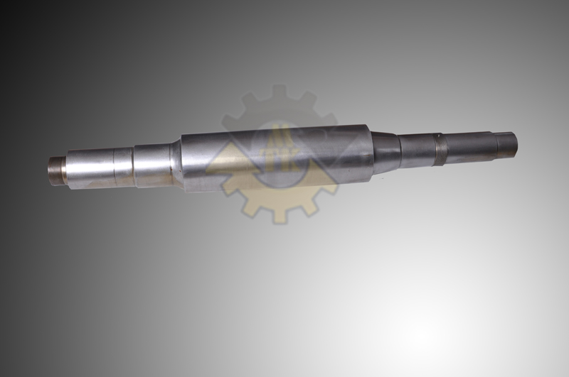 Final Drive Gear Shaft and Sprocket