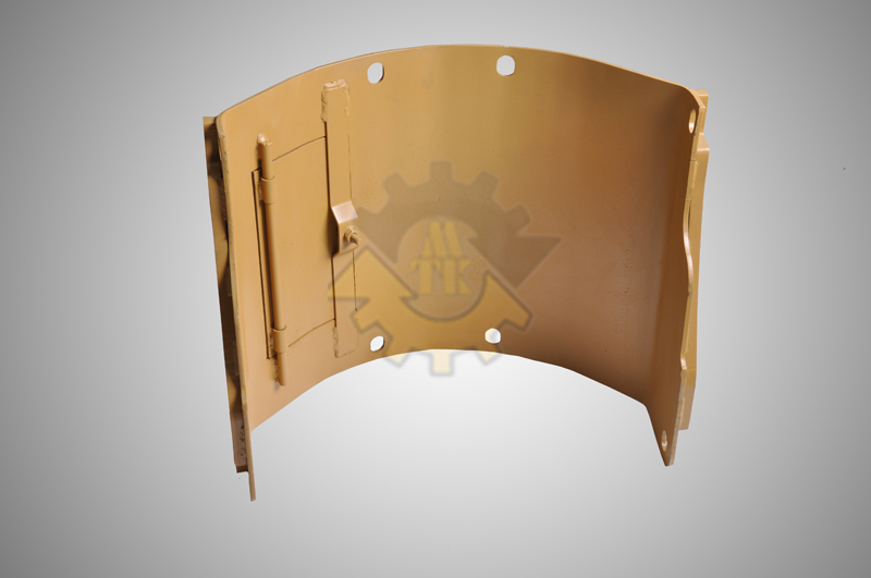 Track Frame Parts Cover and Guard